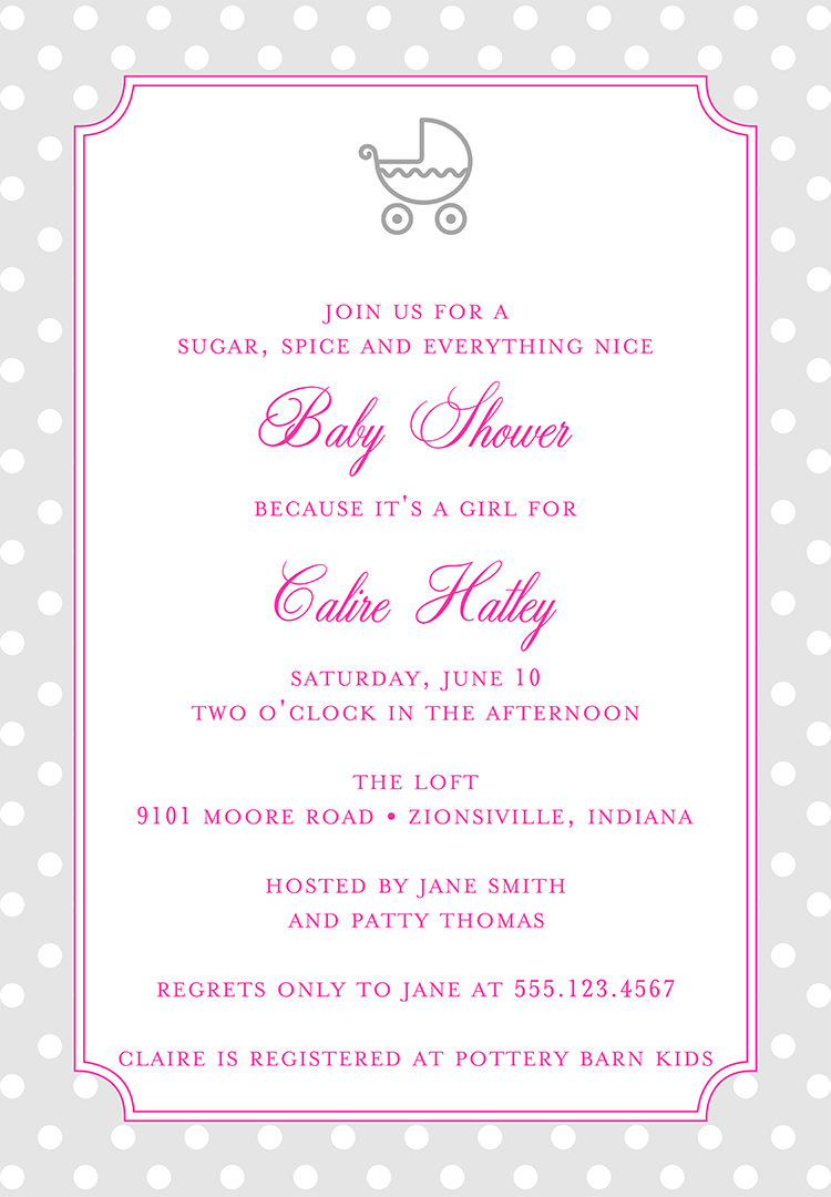 baby shower invitation wording ideas, Baby shower invitation