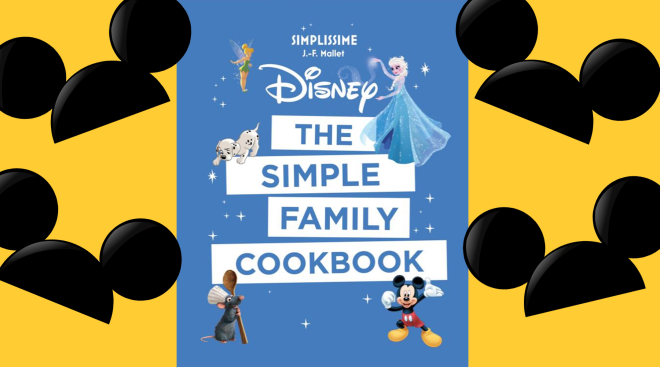disney releases a family cookbook