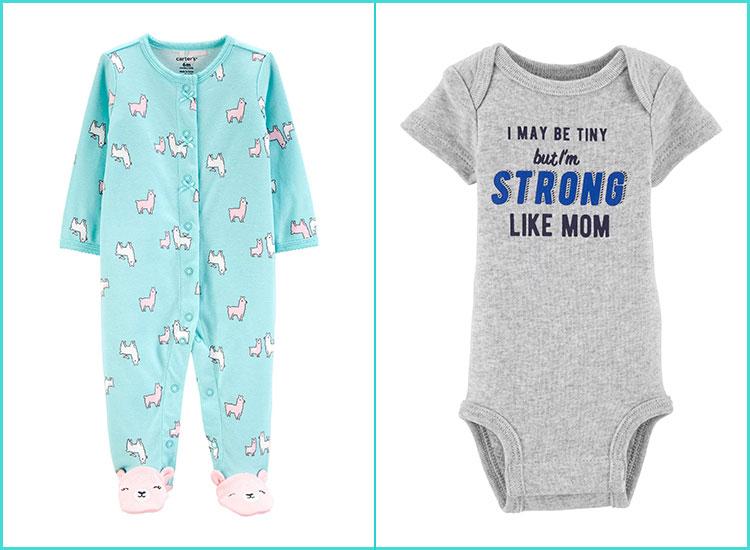 Toddler Baby Girls Bodysuit Short-Sleeve Onesie Shut The Buck Up Print Rompers Summer Pajamas