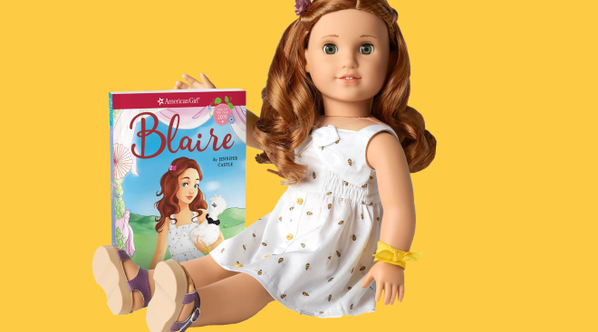 latest american girl doll, blaire who has a phone addiction problem