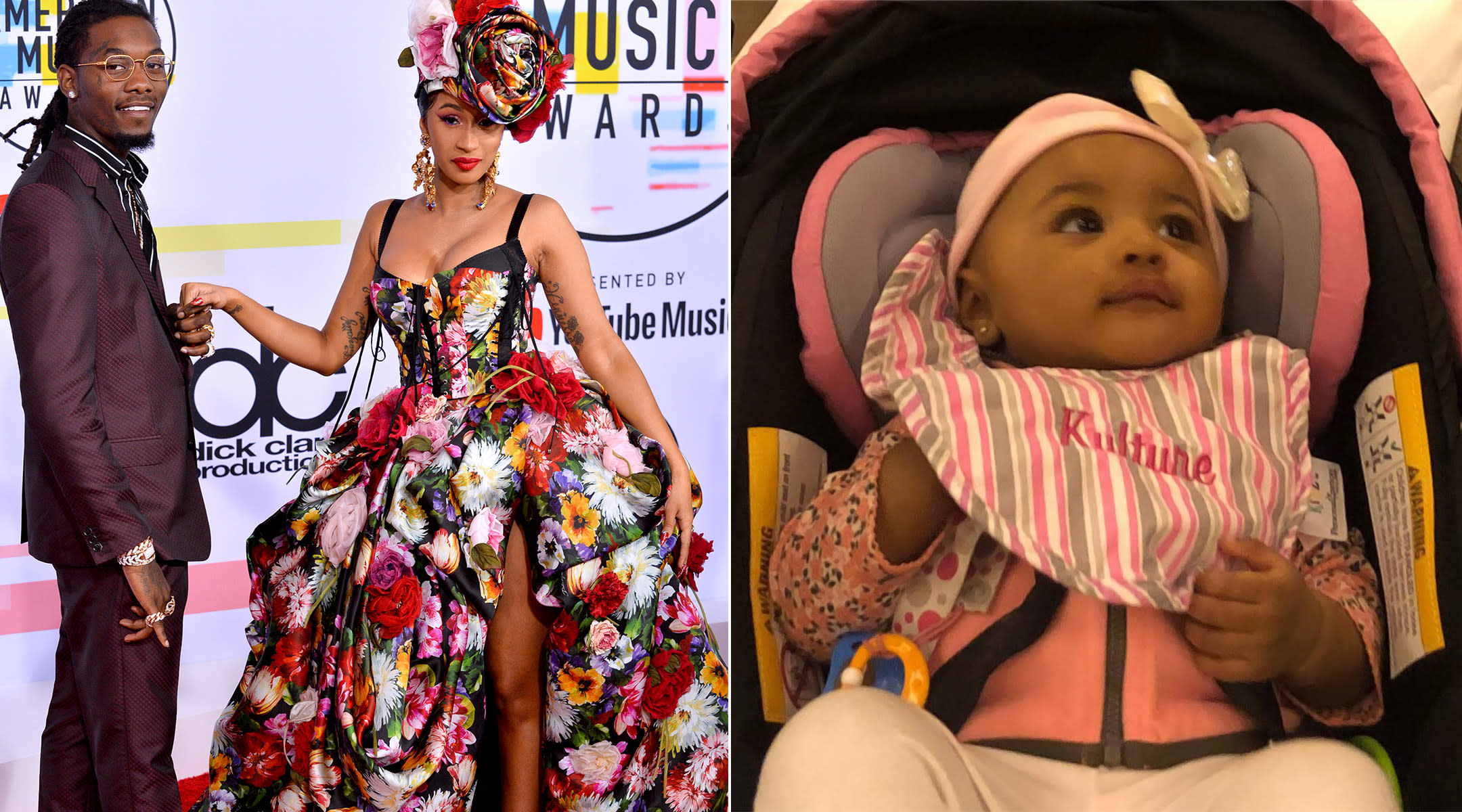 cardi b and offset name their daughter kulture
