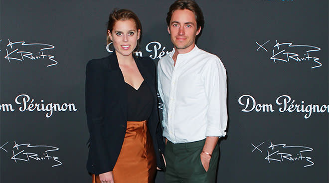 Princess Beatrice is pregnant with her first child.