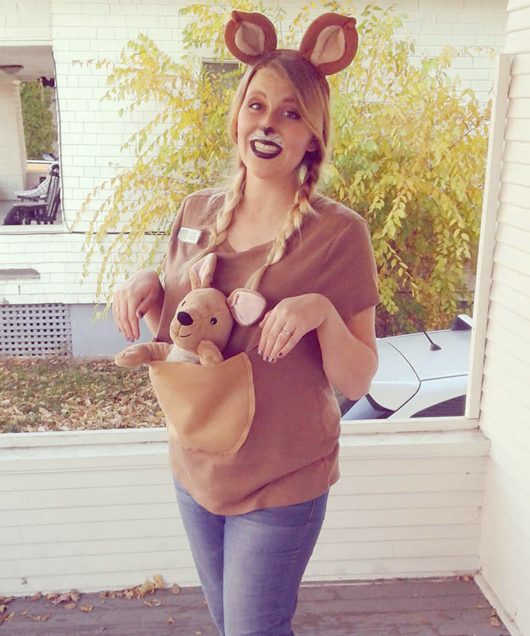 4168983ef781b 29 Best Maternity Halloween Costumes