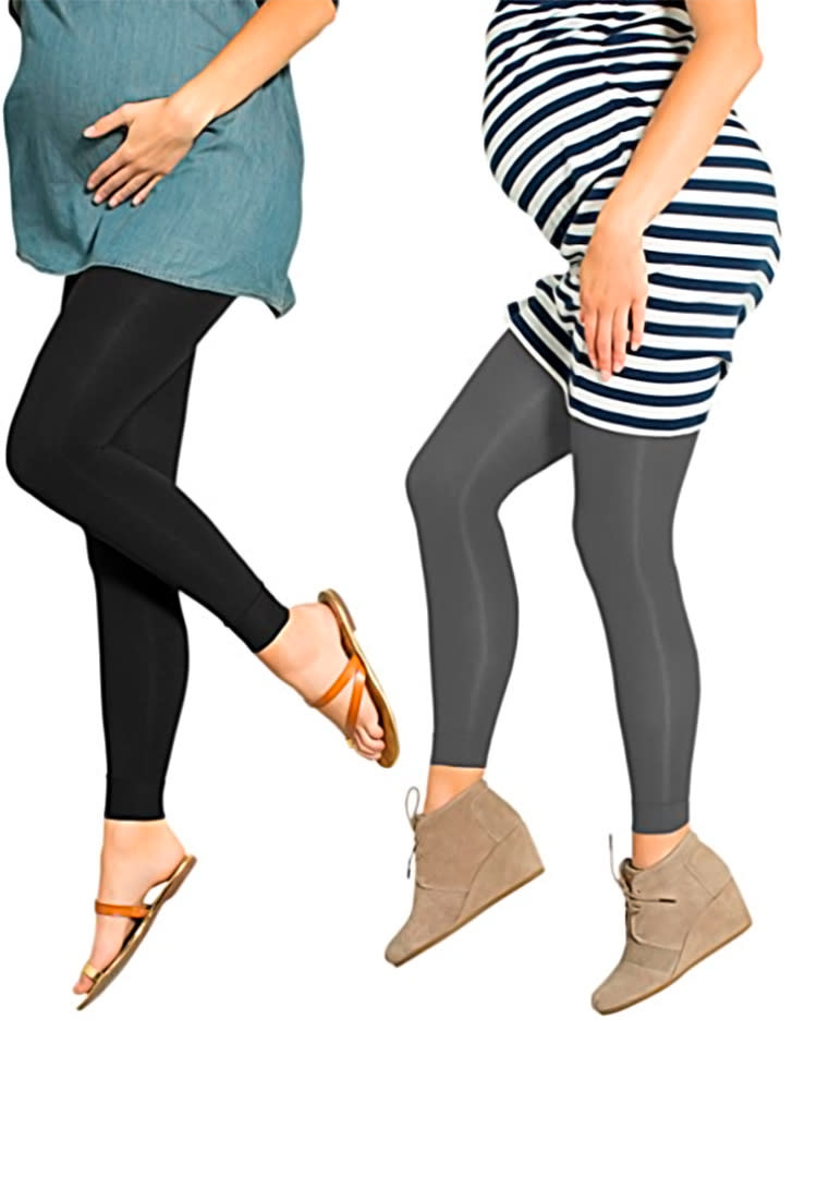 43971727a0592 preggers-footless-maternity-compression-leggings