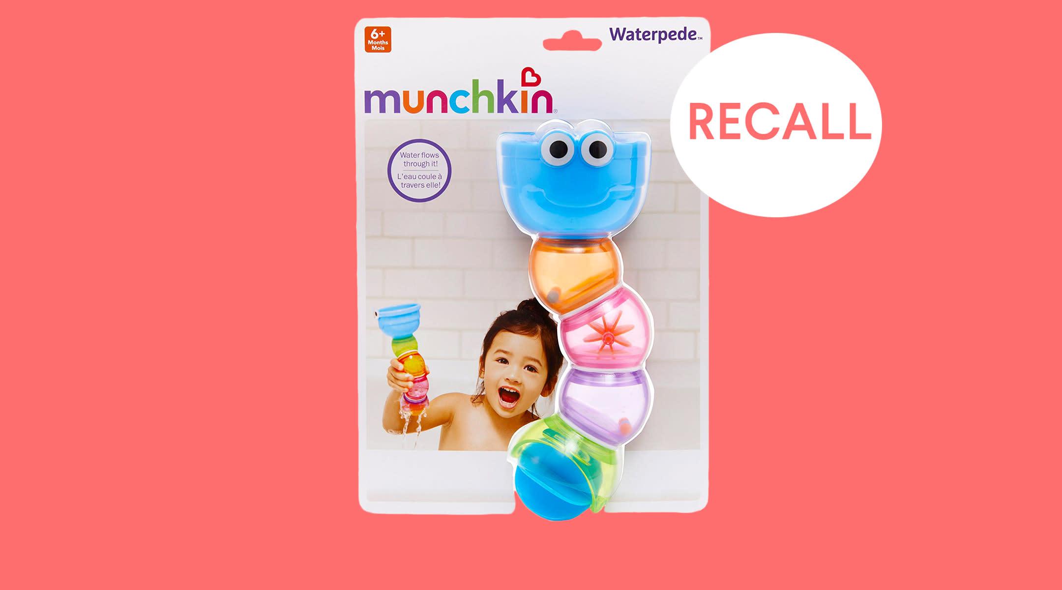 Munchkin Recalls Waterpede Bath Toys