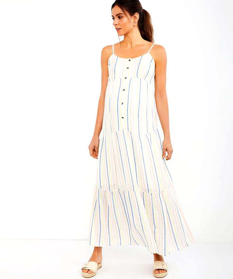 7fac146acad0d 67 Cutest Maternity Summer Dresses of the Season