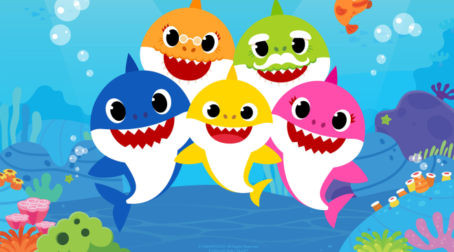 nickledeon partners with pink fong to created baby shark tv series