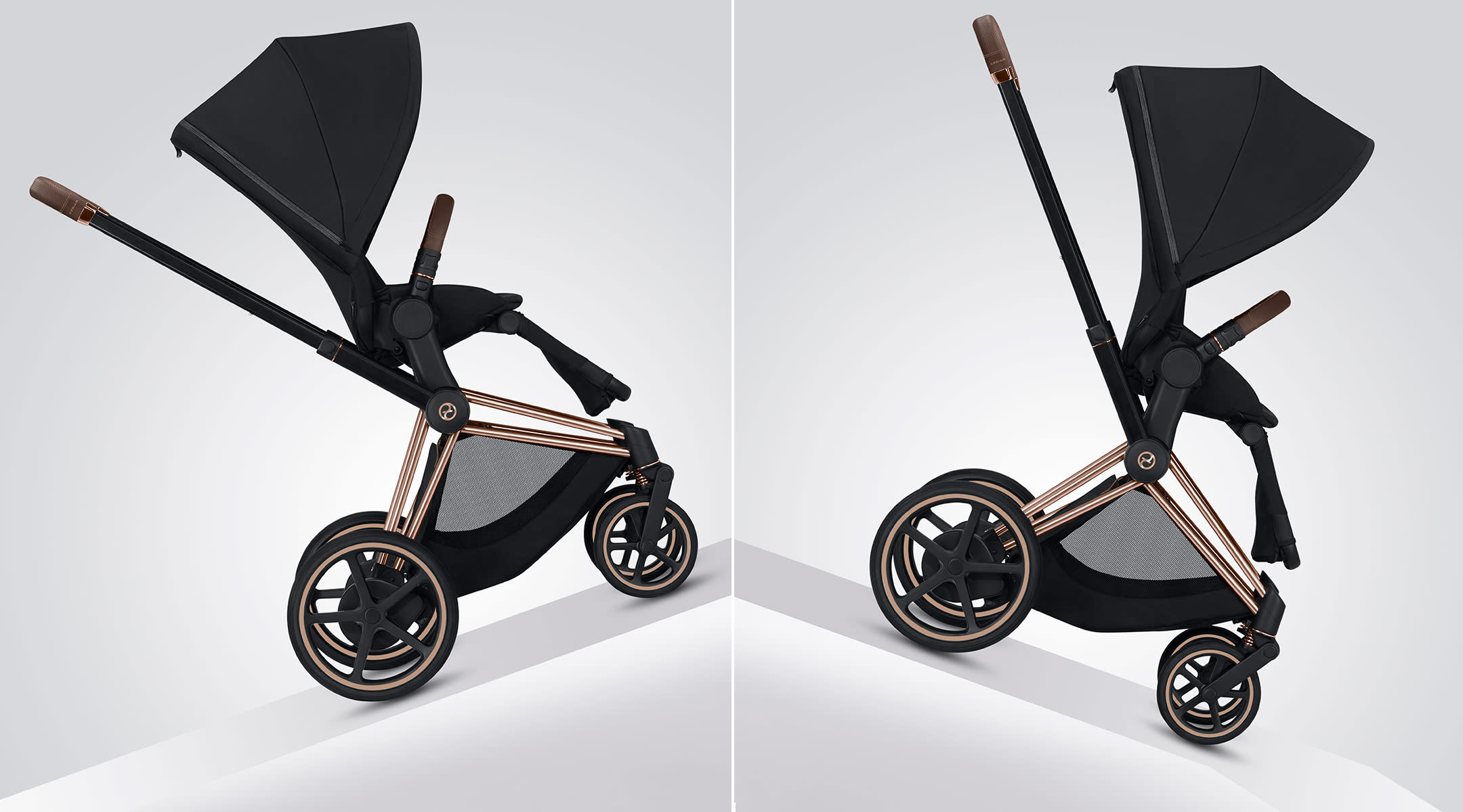 cybex releases electronic stroller