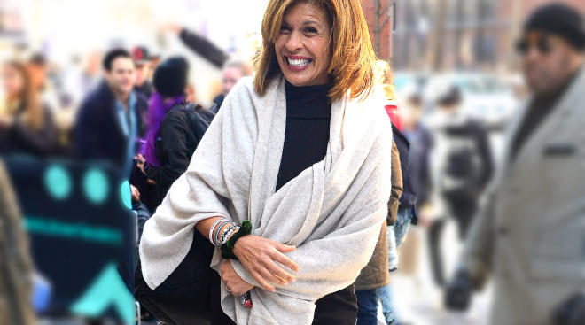 good morning america host, hoda kotb