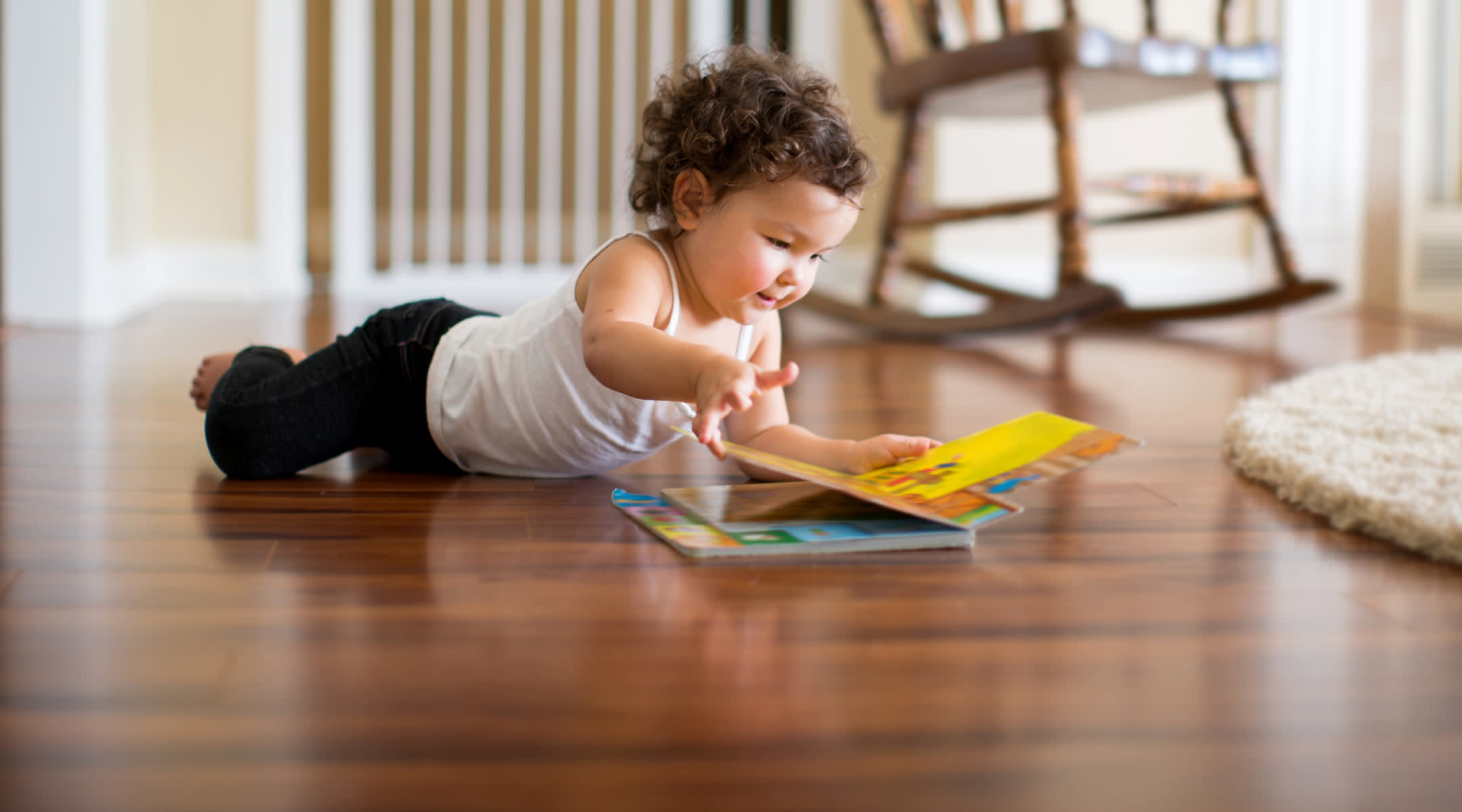 toddler reading potty training book