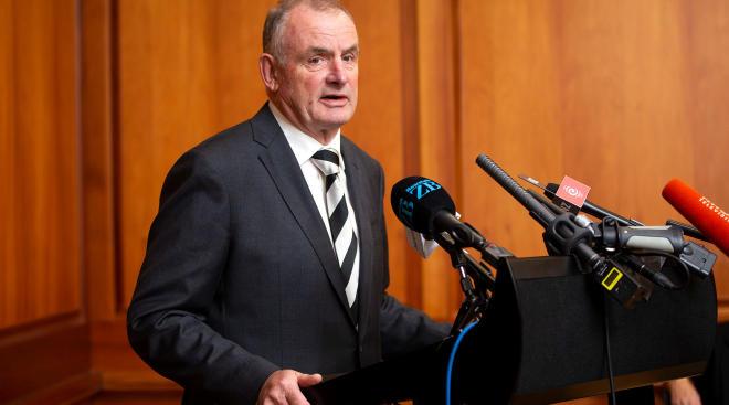new zealand parliament member, trevor mallard