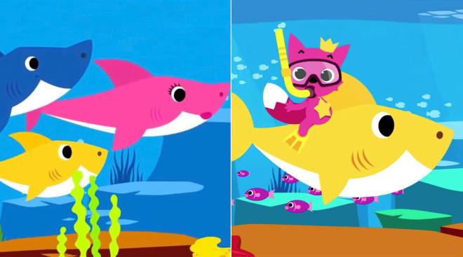 viral baby shark video gets netflix series