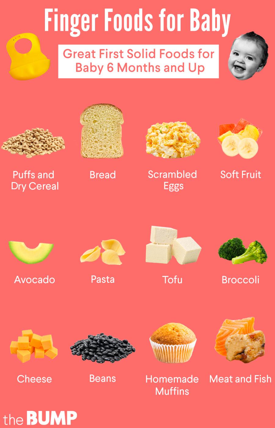 13 Best Finger Foods for Baby