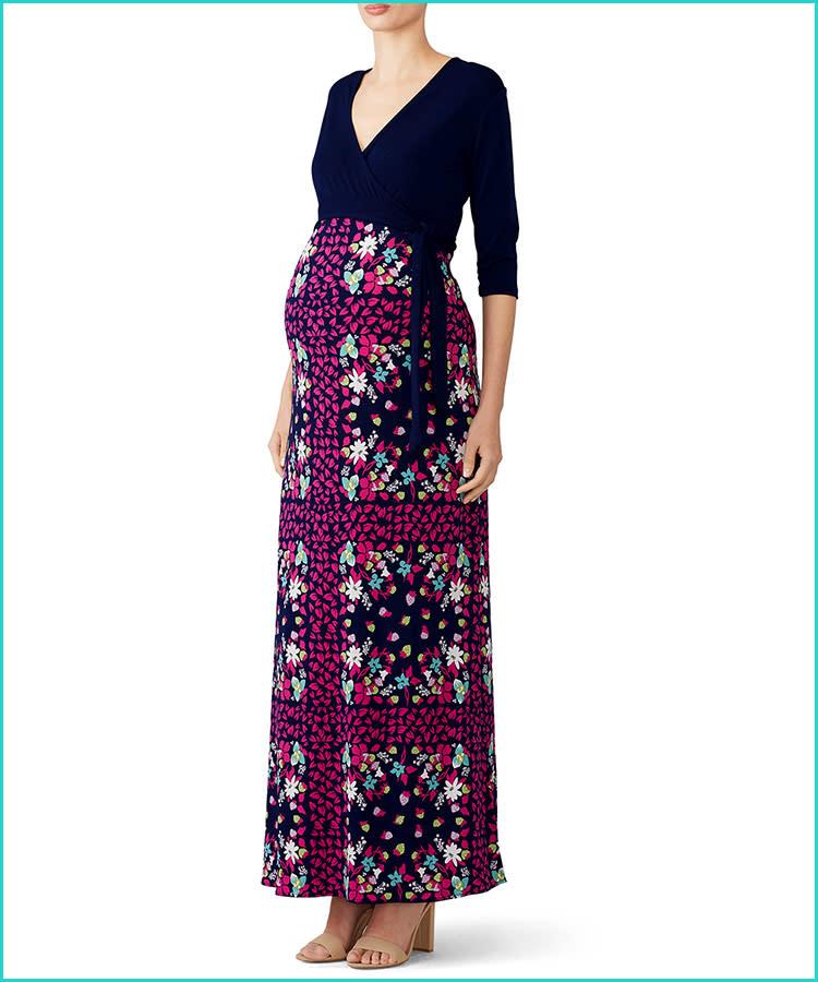 c9f1c7c651b rent-runway-leota-maternity-wrap-dress-floral-print