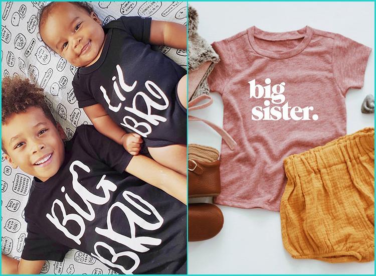 Gift for Big Brother 2016 Kids T-Shirt Elder Sibling Present