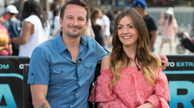 bachelor star carly waddell with her husband