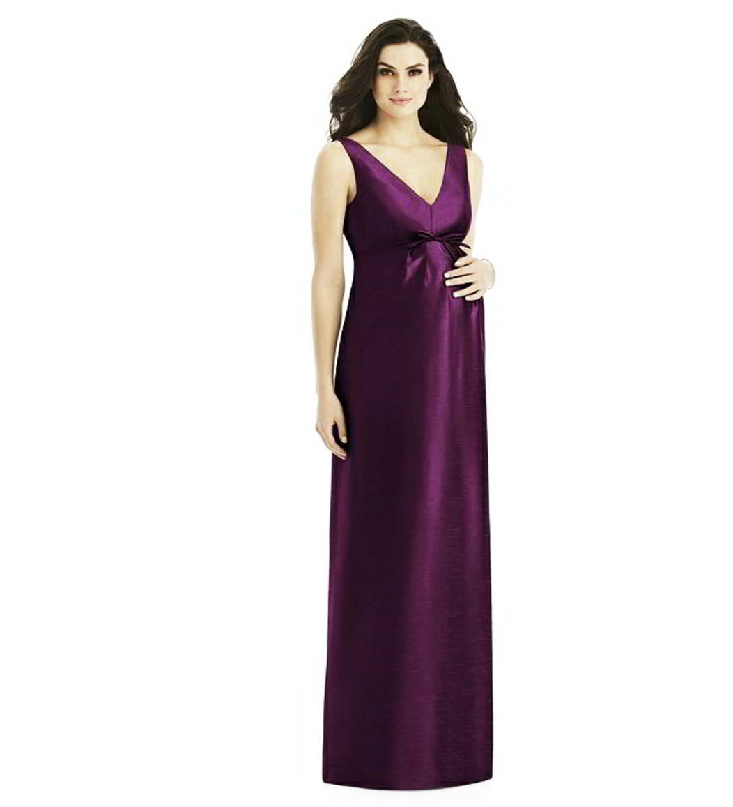 ddc4a1b810a6 Alfred Sung Maternity Bridesmaid Dress by Brand