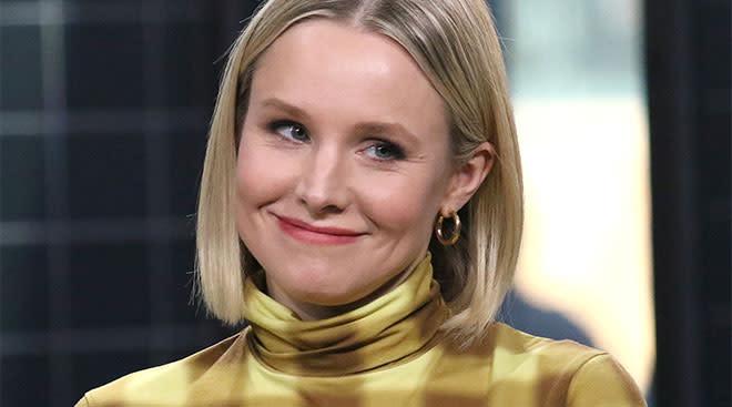 actress kristen bell during an interview