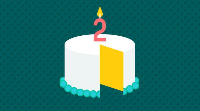 two year toddler birthday cake