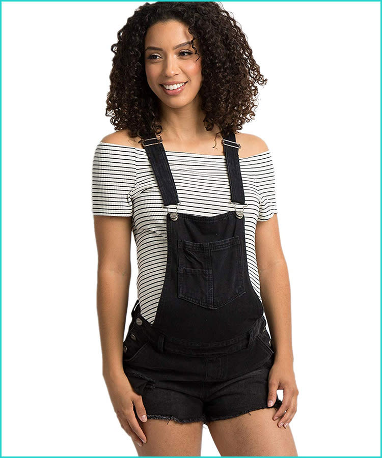 8fd167e42eb98 21 Maternity Overalls That Are Too Cute to Pass Up