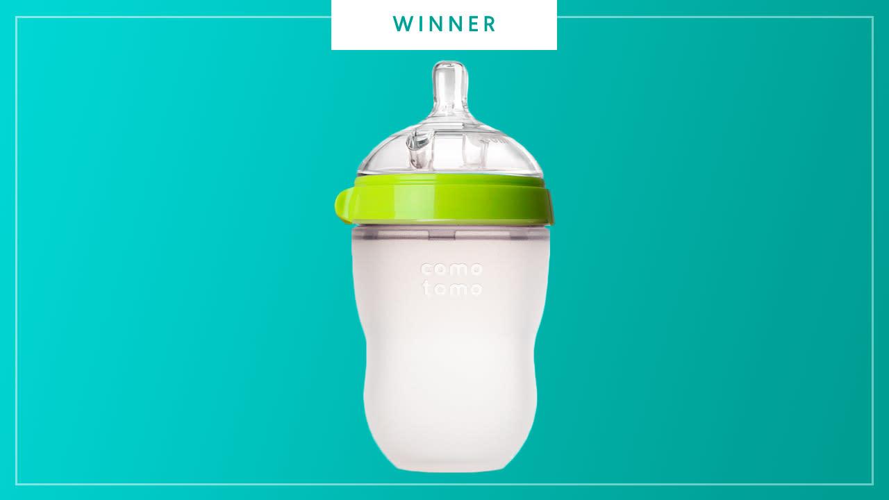 Comotomo plastic baby bottle