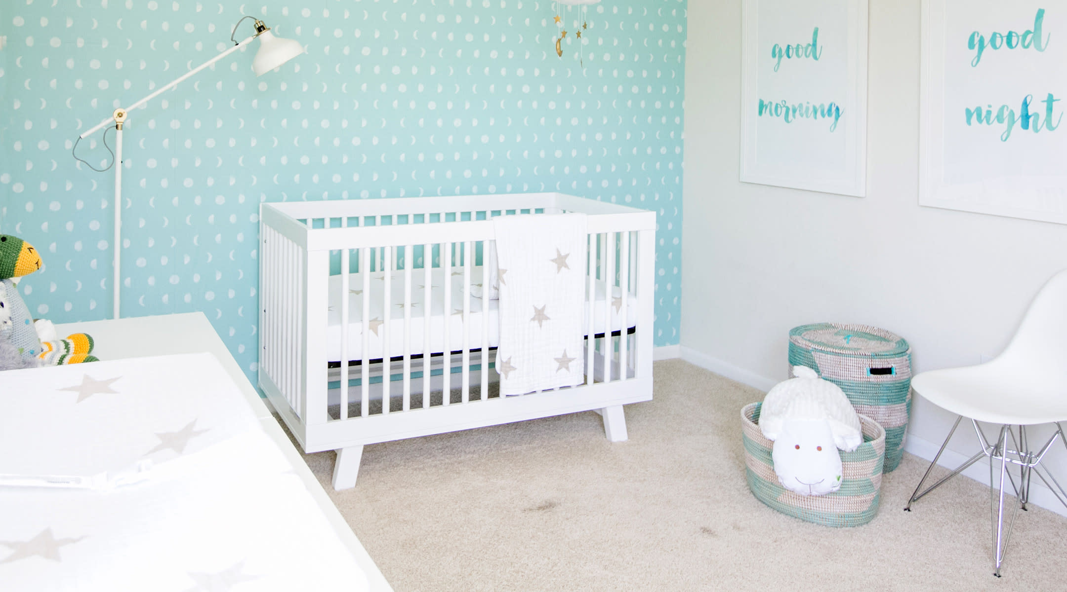 Connie Wong's baby nursery tour
