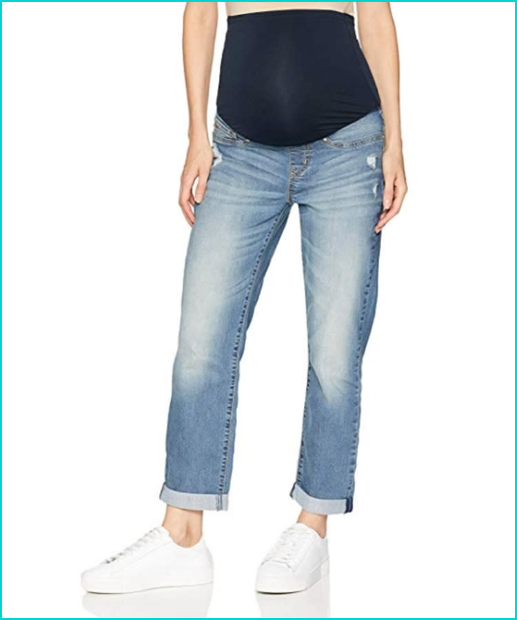 a72badf7a135b 15 Best Maternity Jeans for Every Style