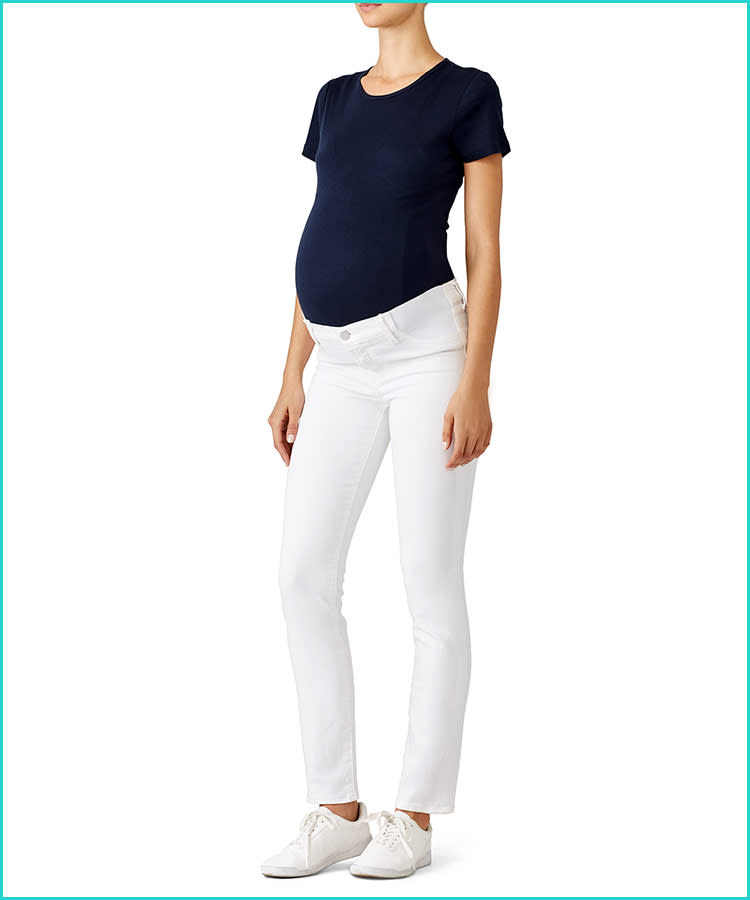 70609f29df409 15 Best Maternity Jeans for Every Style