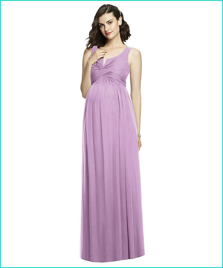 441c7762dfa0e 27 Maternity Bridesmaid Dresses for Any Style and Size