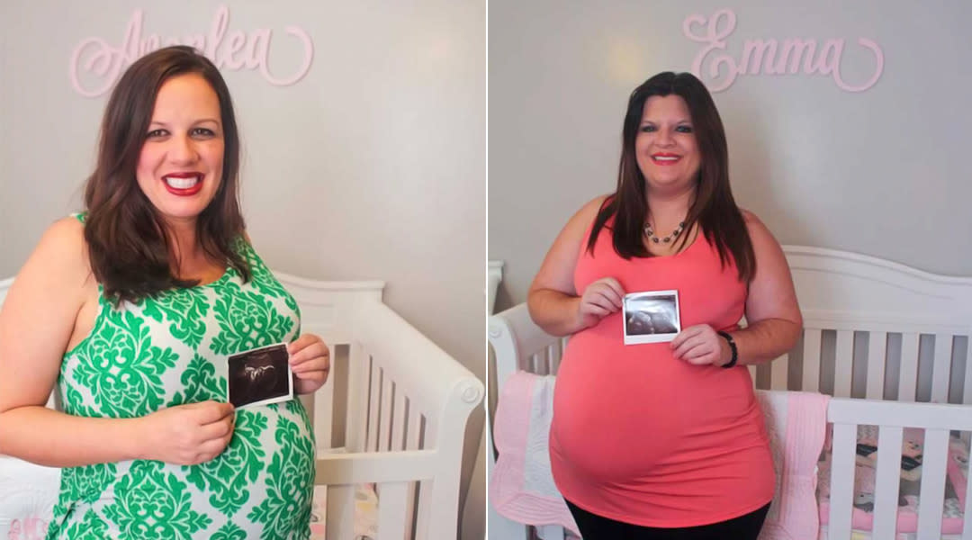 couple pregnant at the same time