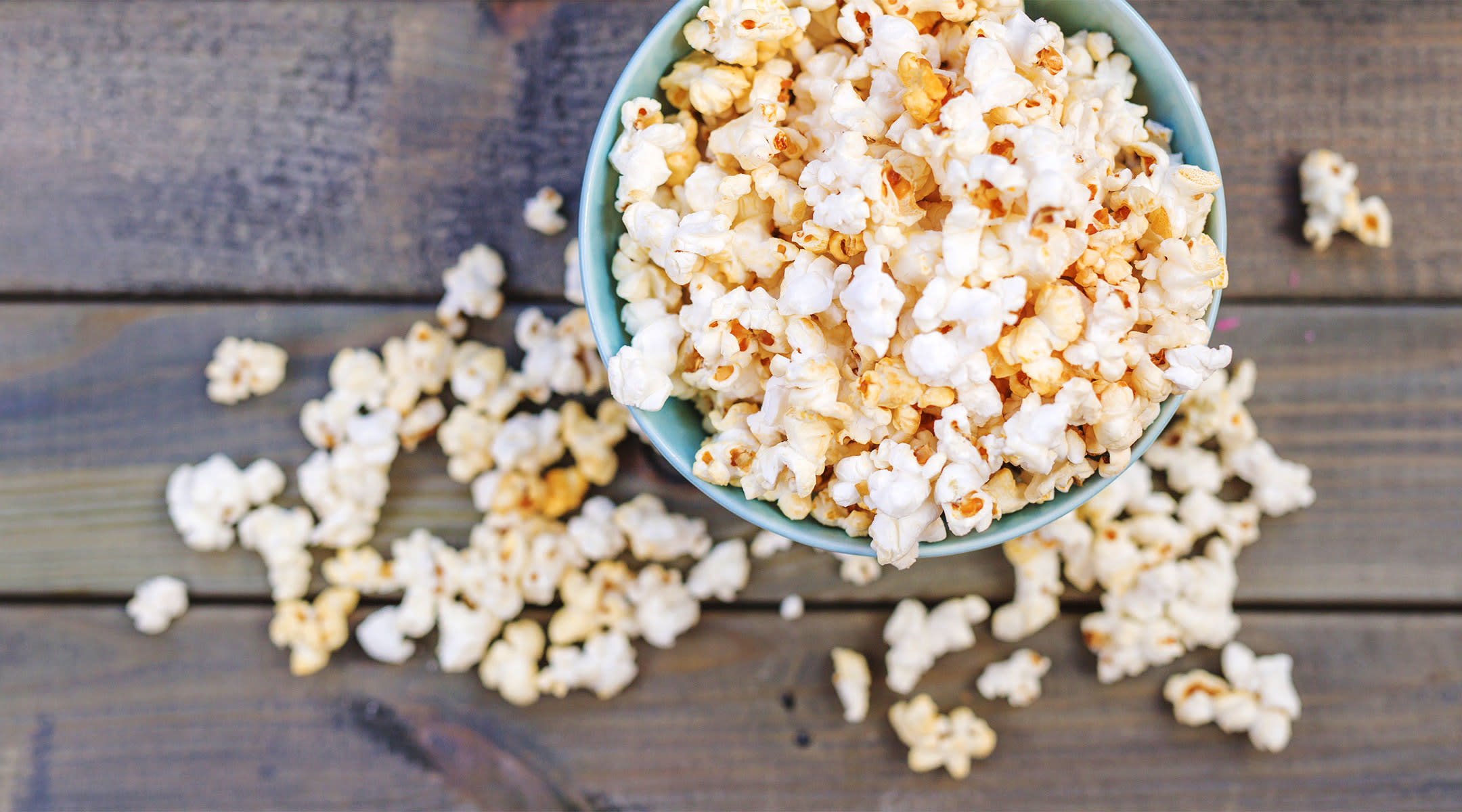 healthy pop-corn snack