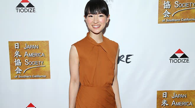 author and tv show host, marie kondo is pregnant with her third child