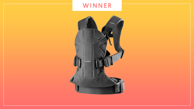The Best of Baby 2019 award winner for top baby carrier is the BabyBjorn Baby Carrier One