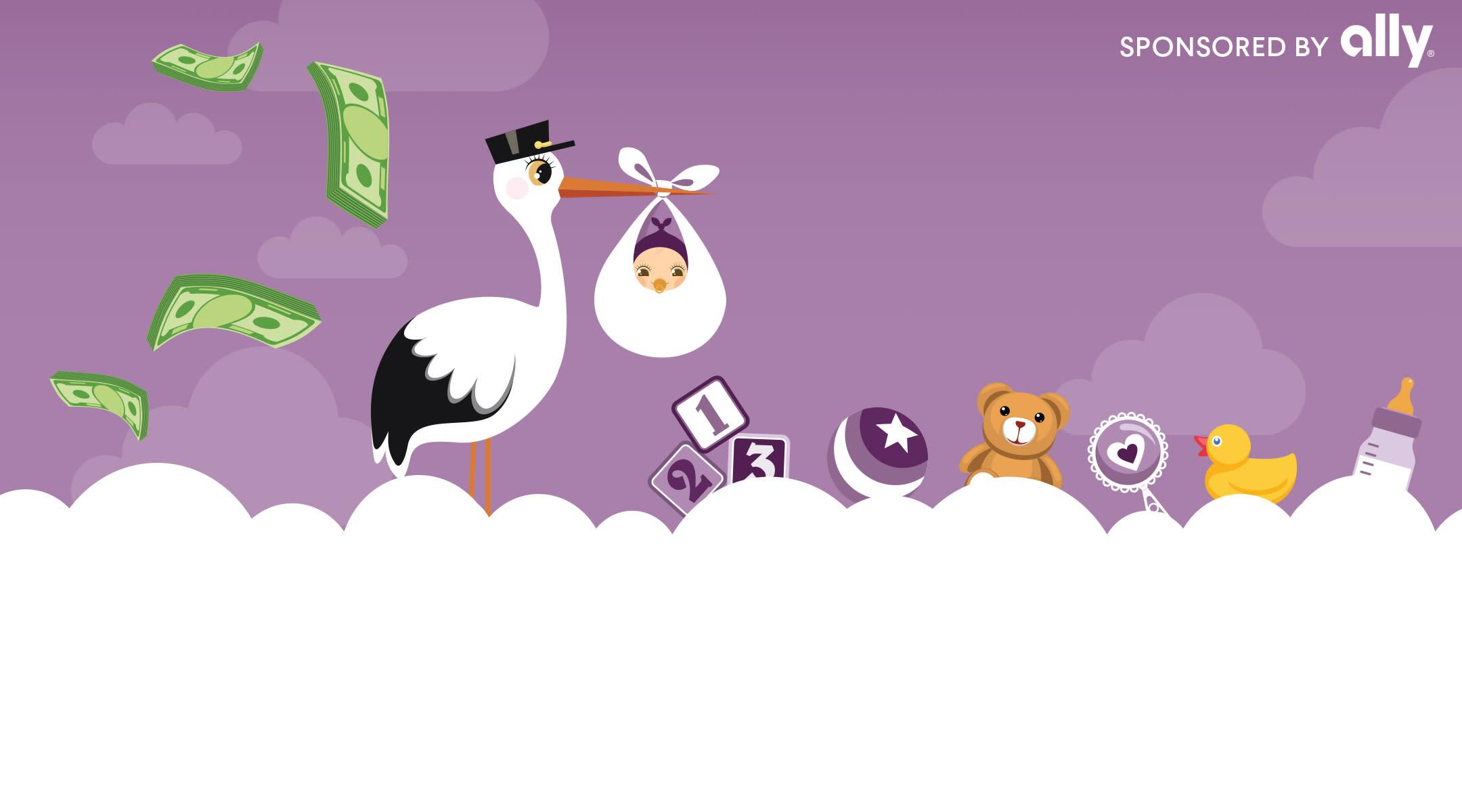 Stork graphic