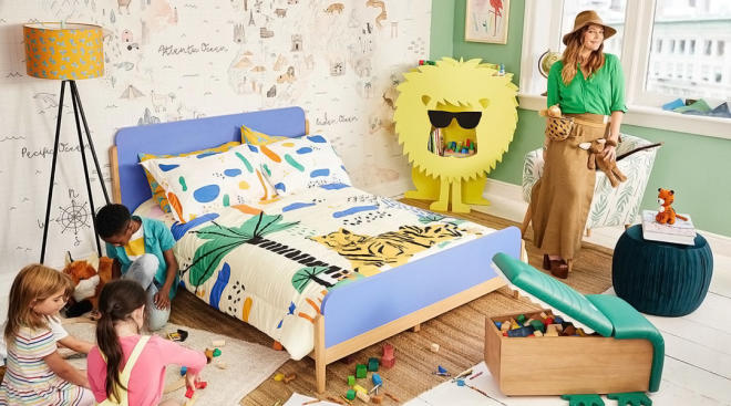 drew barrymore launches flower home kids collection with walmart