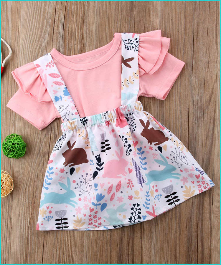 8fe2e0e22 22 Baby Boy and Girl Easter Outfits