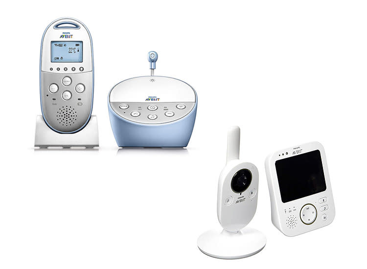3c00fbe9a59 Philips Avent SCD-570 DECT Baby Monitor