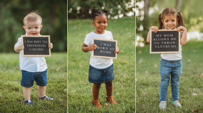 photographer captures families with different parenting styles