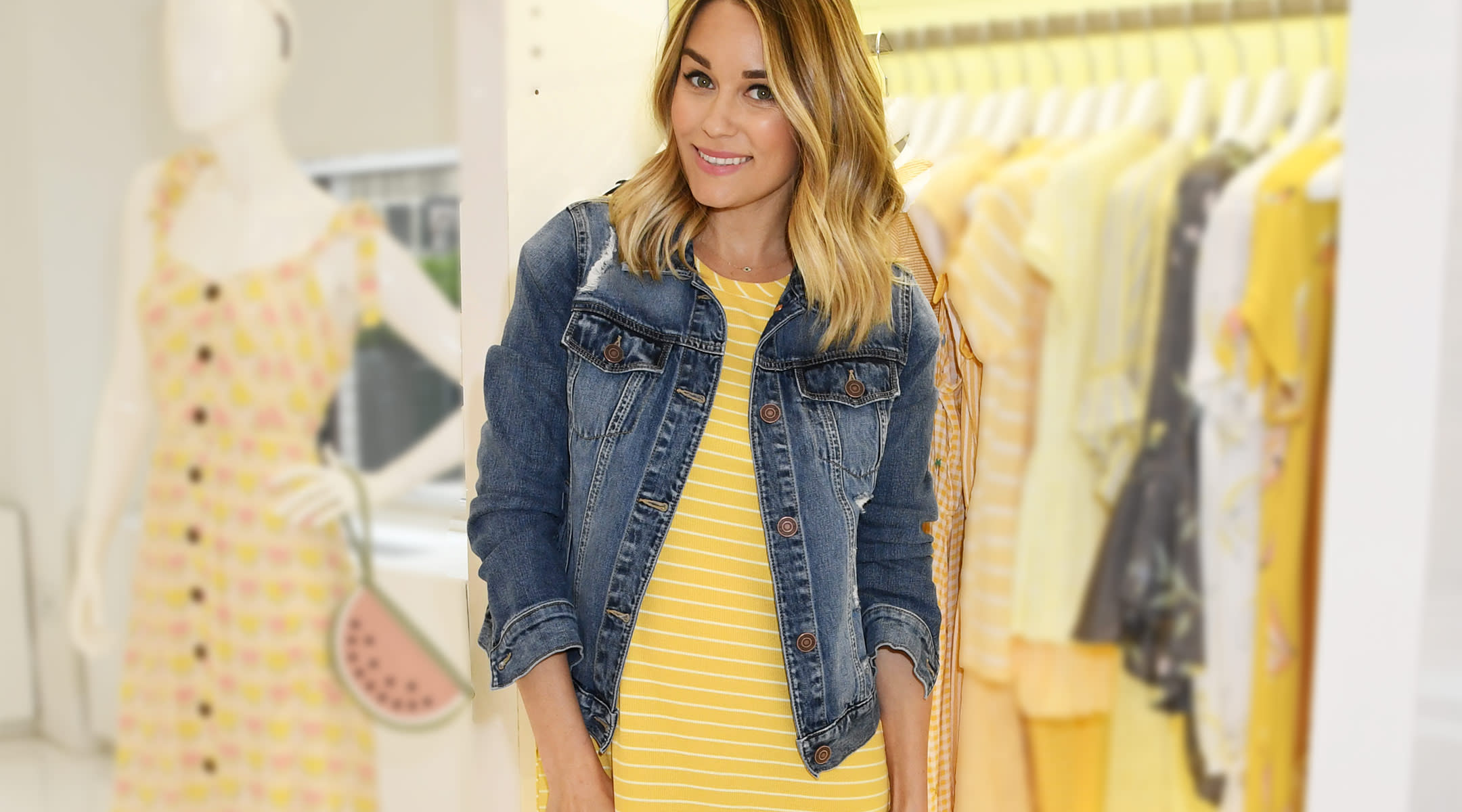lauren conrad announces the arrival of her new baby