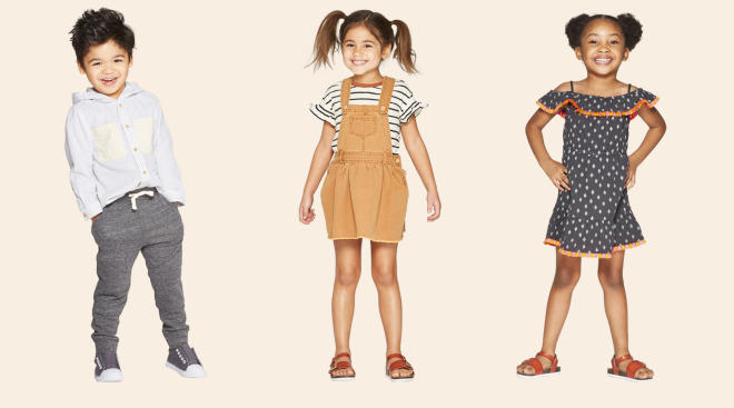 target's la force fashion launches for toddlers