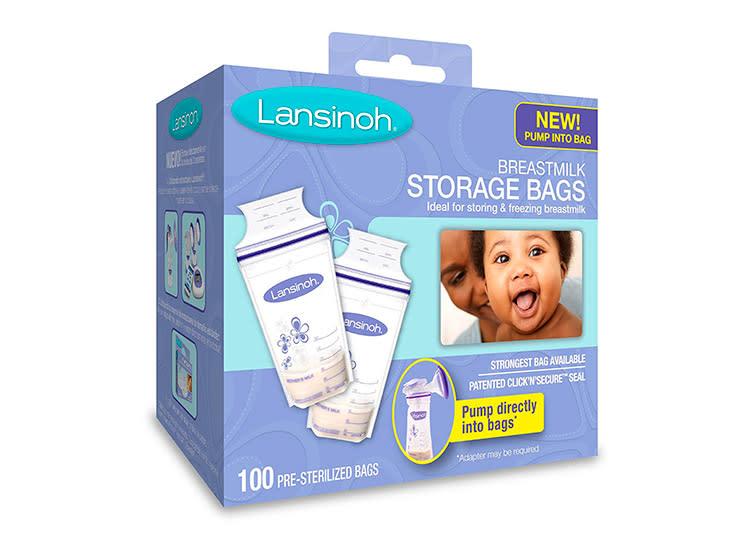 2 Lansinoh T Milk Storage Bags