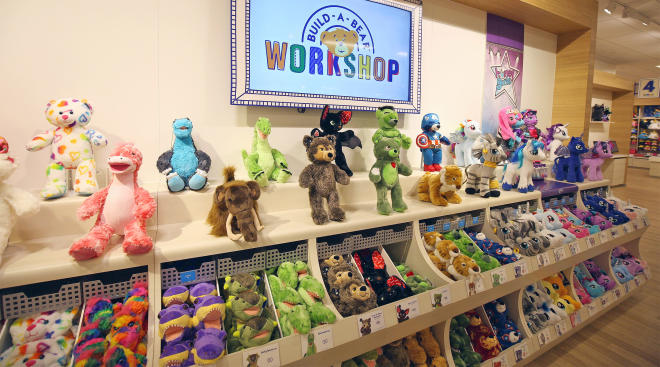 build a bear workshop offers pay your age deal