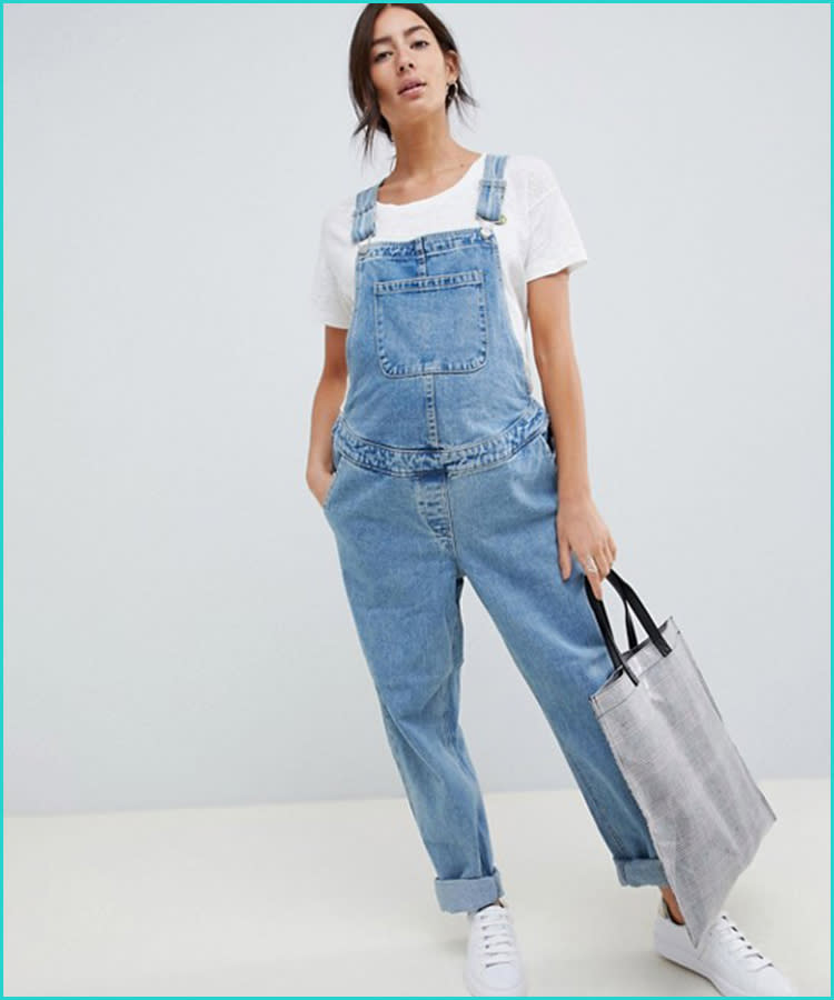 5740cf8eb16 21 Maternity Overalls That Are Too Cute to Pass Up