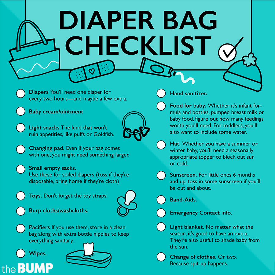 Diaper Bag Checklist  What to Pack in a Diaper Bag 8c02c6d4cf330