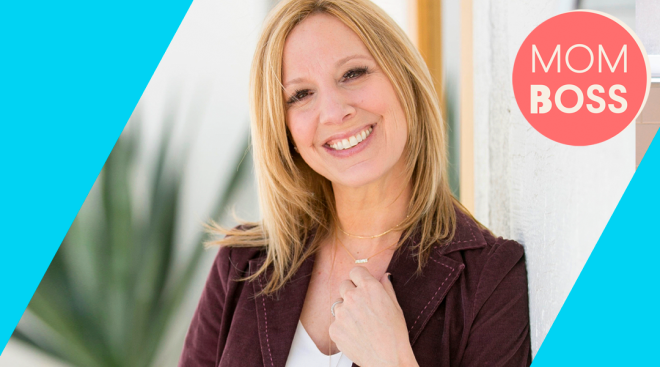 mom boss, Melissa Clayton, founder and ceo of tiny tags
