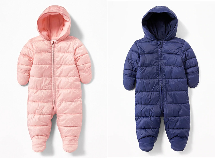 Girls' Clothing (newborn-5t) Shop For Cheap Fashionable Babygap Snow Suit In Sz 4-5 Y.o.