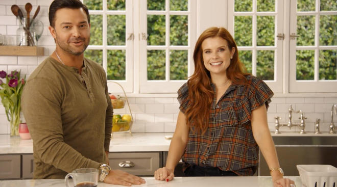 joanna garcia and nick swisher talk about their parenting style