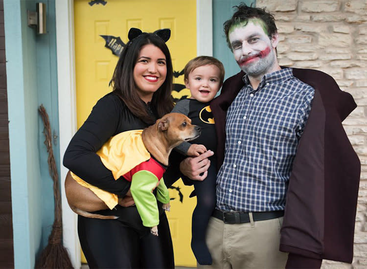 family halloween costume batman