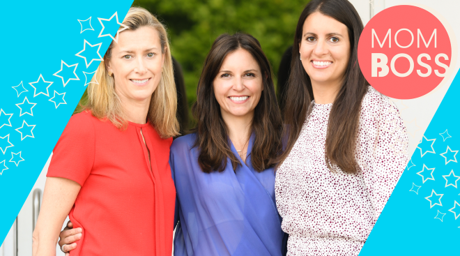 the three mom boss's behind the local moms network