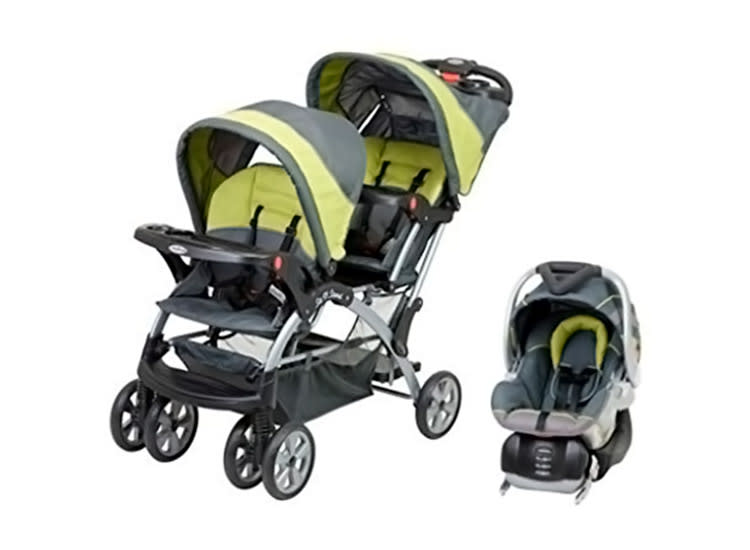 Baby Trend Double Travel System Stroller